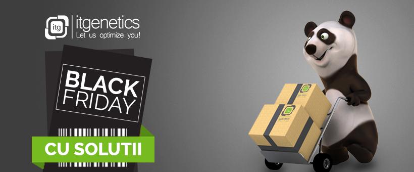 """IT Genetics organizează campania """"Black Friday cu soluţii!"""""""