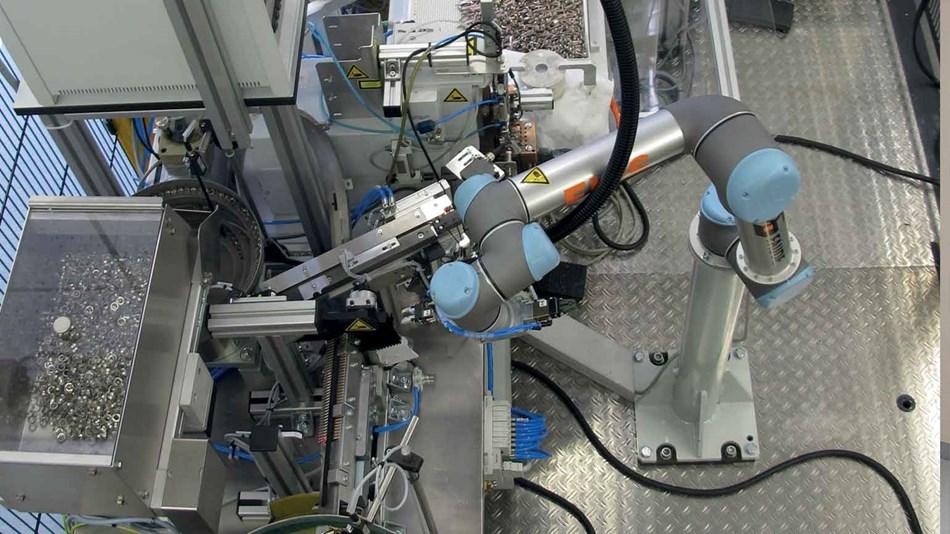 prelucrarea metalelor coboti roboti