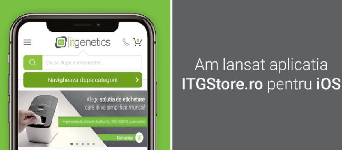 Header articol blog prima aplicatie e-commerce B2B pe mobil